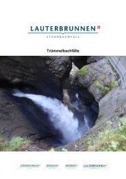 Trümmelbachfälle - Jungfrau Region