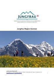 Jungfrau Region Summer