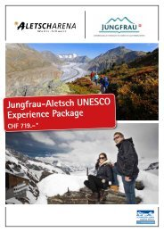 Information + Hotels - Jungfrau Region