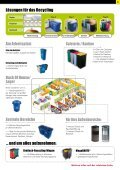 Warum ist Recycling wichtig? - Rubbermaid Commercial Products - Seite 5
