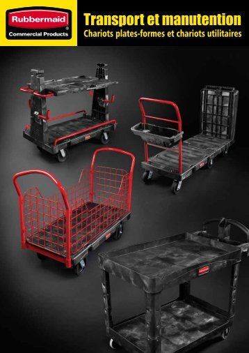 Transport et manutention - Rubbermaid Commercial Products