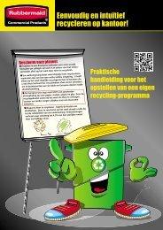 Eenvoudig en intuïtief recycleren op kantoor! - Rubbermaid ...