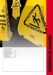 Solutions de sécurité - Rubbermaid Commercial Products