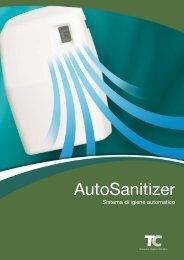 AutoSanitizer - Sistema di igiene automatico - Gruppo SDS