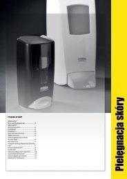 Pielęgnacja skóry - Rubbermaid Commercial Products