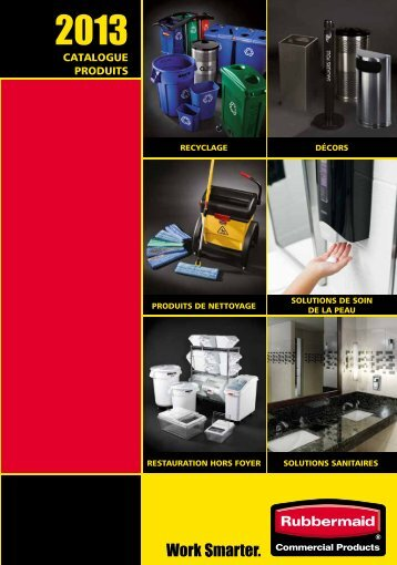 cATAlOGUE PRODUITS Un sa - Rubbermaid Commercial Products