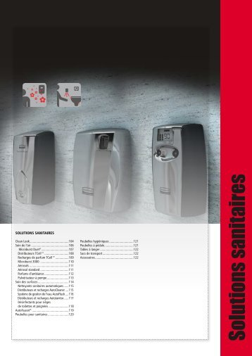 Solutions sanitaires - Rubbermaid Commercial Products