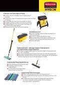 REINIGT DAS WASSER - Rubbermaid Commercial Products - Seite 3