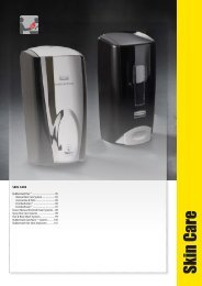 Catalogue 2013 - Skin Care en - Rubbermaid Commercial Products