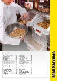 Food Services - Rubbermaid Commercial Products