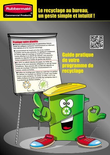 recyclage. - Rubbermaid Commercial Products