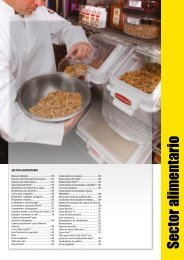 Sector alimentario - Rubbermaid Commercial Products