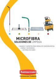 mopas húmedas de microfibra - Rubbermaid Commercial Products