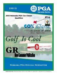 July 30 - Nebraska PGA