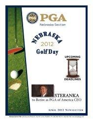 Apr Newsletter - Nebraska PGA