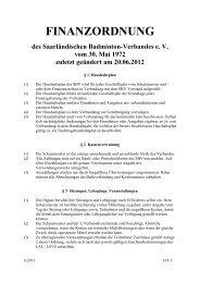 Finanzordnung (Stand: 20.06.2012)