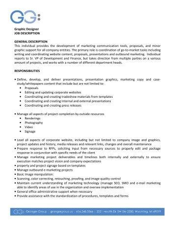 Video Designer Job Description Mar2011 - Generations Christian ...