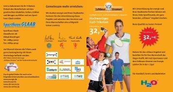 Flyer - Saarländischer Badmintonverband