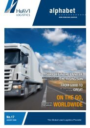 oN tHe go, worLdwIde - Media – HAVI Logistics