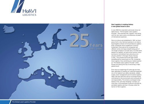 Years 25Years - Media – HAVI Logistics