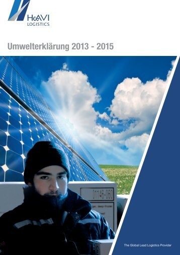 Umwelterklärung 2013 - 2015 - Media – HAVI Logistics