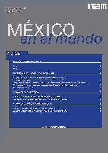 Mexico mundo num8 vol9