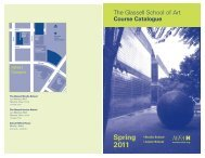 Studio School SPRING 2011 Course Catalogue - MFAH/Support ...