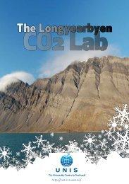 Download brochure - CO2 - CCS - Unis CO2 Lab - UNIS