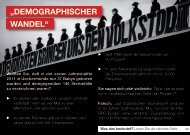 """demographiScher Wandel"" - NPD Landesverband Mecklenburg ..."
