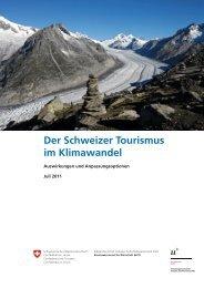 Der Schweizer Tourismus im Klimawandel