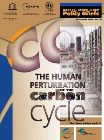 The Human perturbation of the carbon cycle: the ... - unesdoc - Unesco