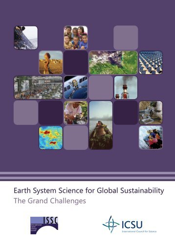 Earth System Science for Global Sustainability The Grand Challenges