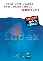 The Climate Change Performance Index - Results ... - Germanwatch