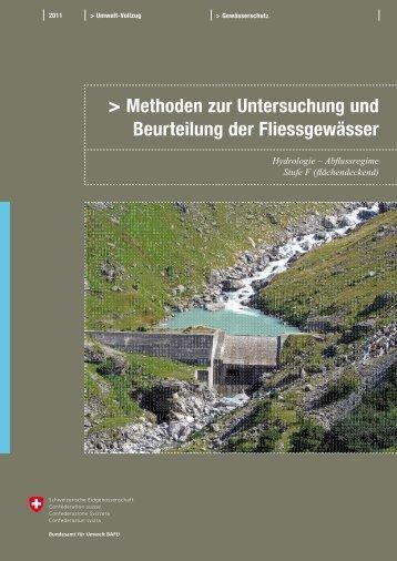 Methoden zur Untersuchung und Beurteilung der ... - Bafu - CH