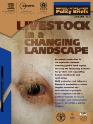 Livestock in a Changing Landscape - Scientific Committee on ...
