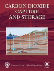 carbon dioxide capture and storage carbon dioxide capture and ...