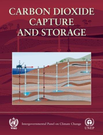 carbon dioxide capture and storage carbon dioxide capture and ...