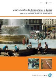 Urban adaptation to climate change in Europe (EEA Report No 2 ...