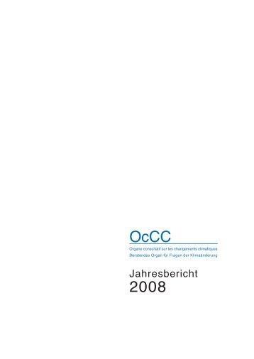 OcCC 2008 - OcCC - SCNAT