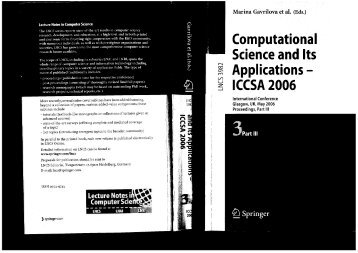 LNCS 3982 - A Comparative Study of Proposals for Establishing ...