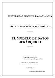 EL MODELO DE DATOS JERÁRQUICO - ITESCAM