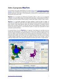 Sobre el programa MapTem: - Grupo Alarcos - Universidad de ...