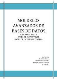 MOLDELOS AVANZADOS DE BASES DE DATOS - Grupo Alarcos
