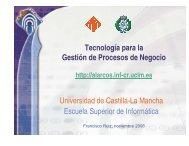 Tecnología para la Gestión de Procesos de Negocio Universidad de ...