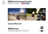 Exponat Motorrad - SmartWeb Project