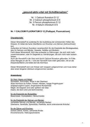"""gesund-aktiv-vital mit Schüßlersalzen"""" - Apotheke Mayr"""