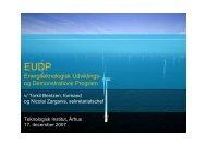 Energiteknologisk Udviklings- og Demonstrations Program - DBDH