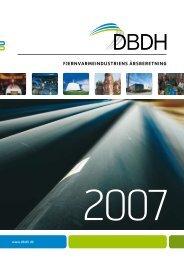 Annual report 2007 - DBDH