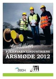 fjernvarmeindustriens årsmøde 2012 - DBDH