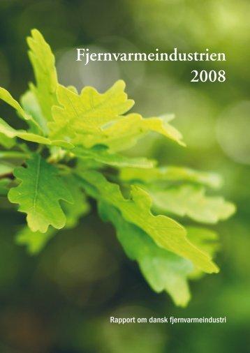 Fjernvarmeindustrien 2008 (rapport) - DBDH
